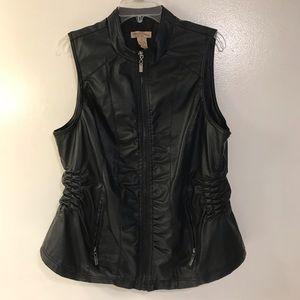 Black Oversized Rockin Vest